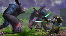 Phantasy Star Online Art & Characters Gallery