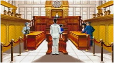 Phoenix Wright: Ace Attorney Justice For All Art & Characters Pictures