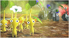 Pikmin 3 Art, Pictures, & Characters