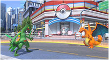 Pokkén Tournament Art & Characters Pictures