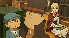 Professor Layton vs. Phoenix Wright: Ace Attorney Art & Characters Gallery