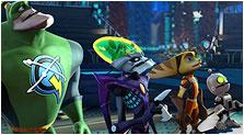 Ratchet & Clank: All 4 One Art & Characters Pictures