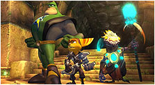 Ratchet & Clank Future: A Crack in Time Art & Characters Gallery