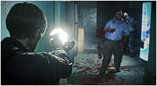 Resident Evil 2 (2019) Art & Characters Gallery