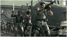 Resident Evil 5 Art & Characters Pictures
