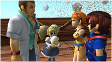 Skies of Arcadia Art & Characters Gallery