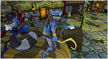 Sly Cooper: Thieves in Time Art & Characters Gallery