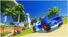 Sonic & All-Stars Racing Transformed Art & Characters Gallery