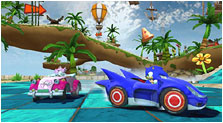 Sonic & Sega All-Stars Racing Art, Pictures, & Characters
