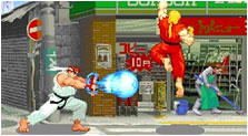 Street Fighter III Art, Pictures, & Characters