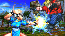 Street Fighter X Tekken Art & Characters Gallery