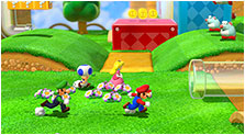Super Mario 3D World Art & Characters Gallery