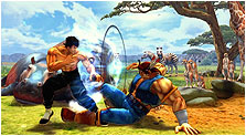 Super Street Fighter IV Art & Characters Gallery