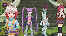 Tales of Graces Art & Characters Gallery