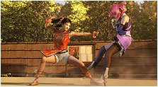 Tekken: Blood Vengeance Art & Characters Gallery