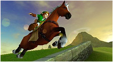 The Legend of Zelda: Ocarina of Time 3D Art & Characters Pictures
