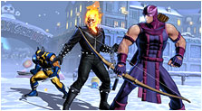 Ultimate Marvel vs. Capcom 3 Art & Characters Gallery