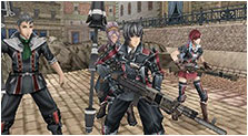 Valkyria Chronicles III Art & Characters Gallery