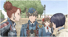 Valkyria Chronicles Art & Characters Gallery