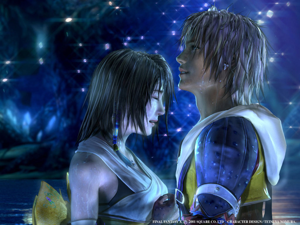 Wallpaper Yuna and Tidus Final Fantasy X [HD by