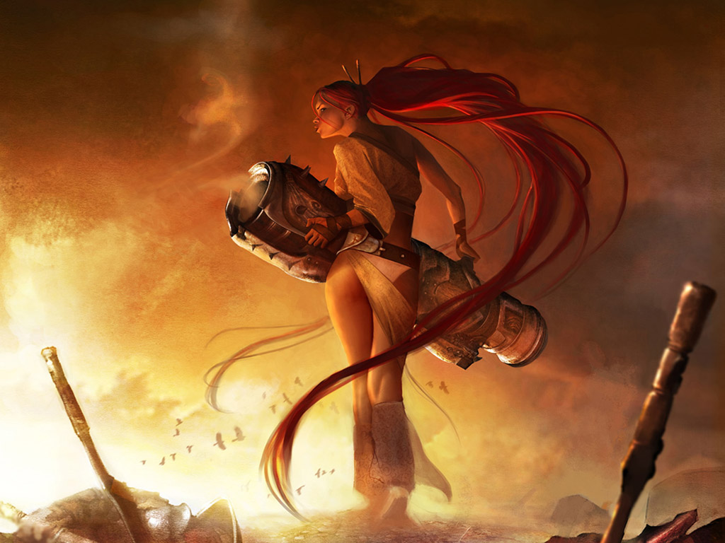 Heavenly Sword Desktop Wallpaper All Wallpaper Galleries