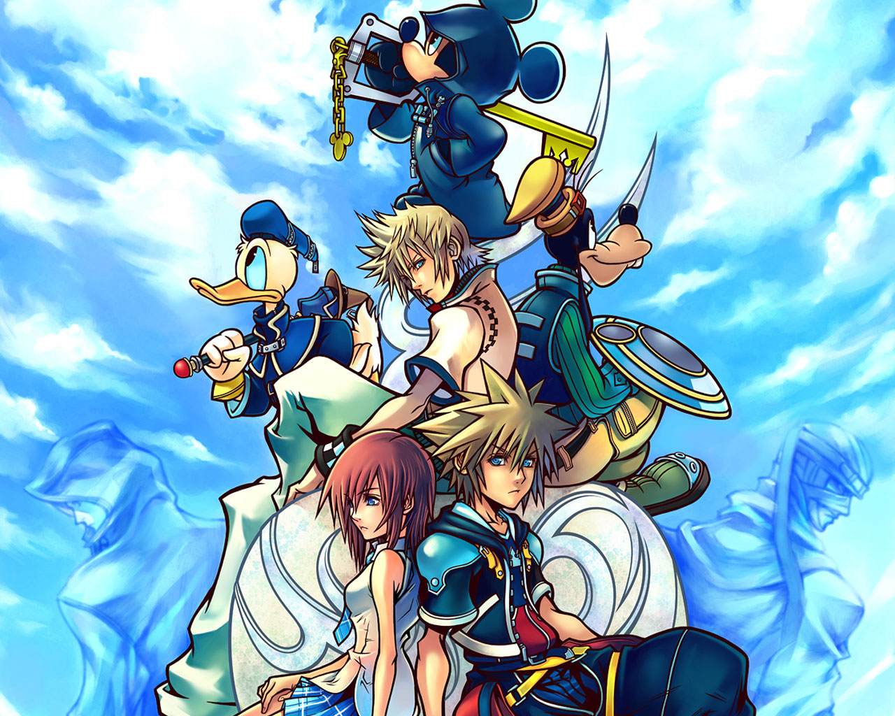 Kingdom Hearts II Wallpaper / Desktop Backgrounds - Creative Uncut