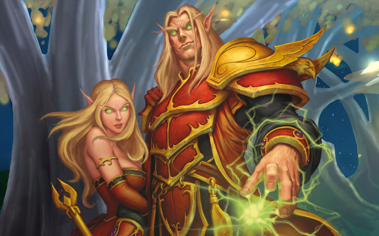 Blood elf cinematic wallpaper hentay images